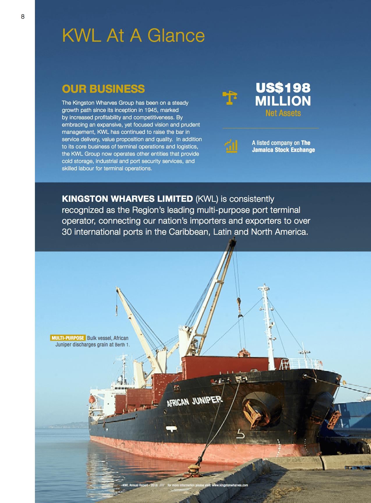 Investor Relations - Kingston Wharves Limited |